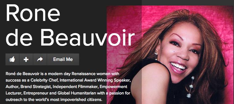 Chef Rone de Beauvoir gave 3 Michelin Stars to SalesVu iPad POS System